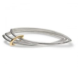 Jangle bangle in silver and gold
