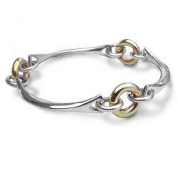 Heavy Gold rings bracelet