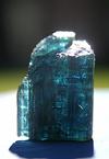 blue tourmaline crystal
