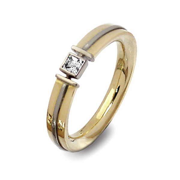 Jupiter princess diamond ring