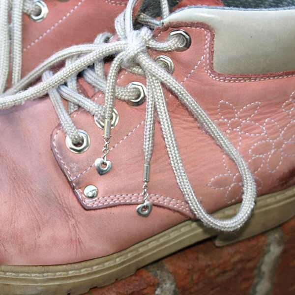 Boots with love laces