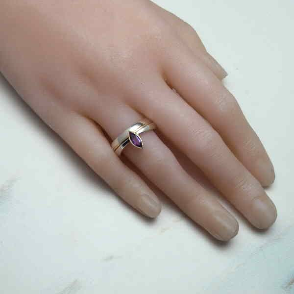 marquise ring on hand