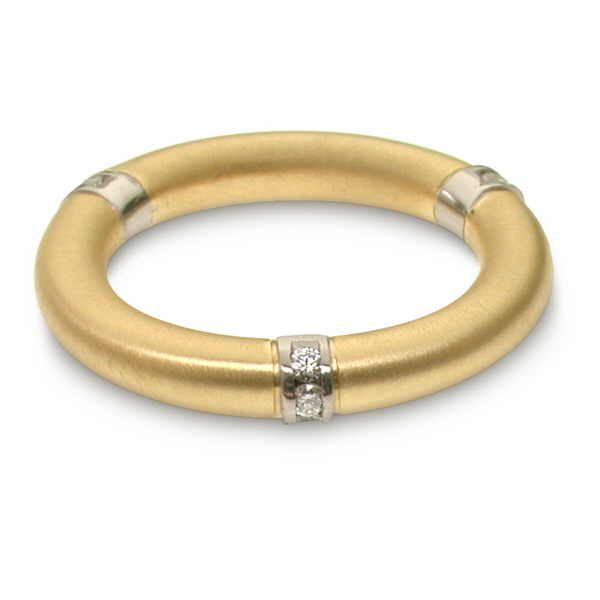 gold, platinum and diamond ring