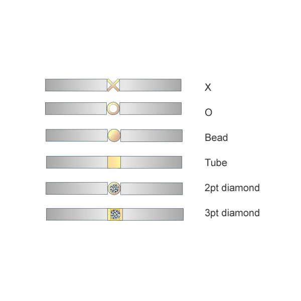 Graphic of stacking ring variations