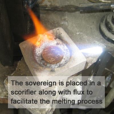 Preparing to melt