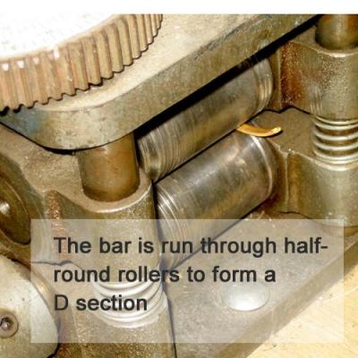 D-milling gold strip