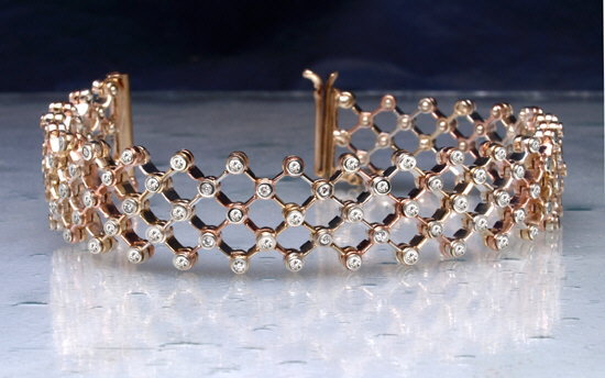 Flex bracelet in gold an dd